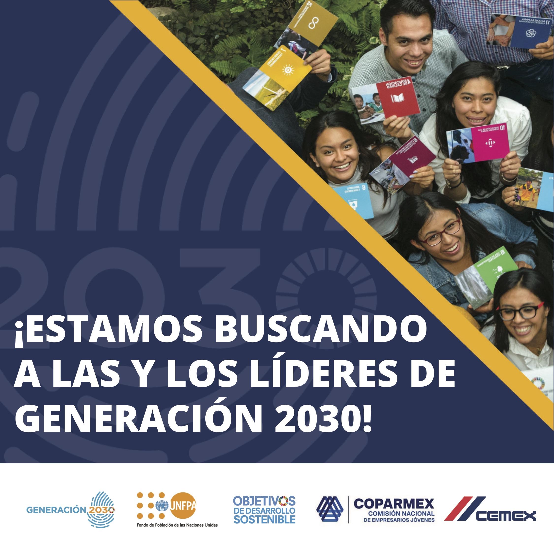 """Convocatoria """"Líderes Generación 2030"""""""
