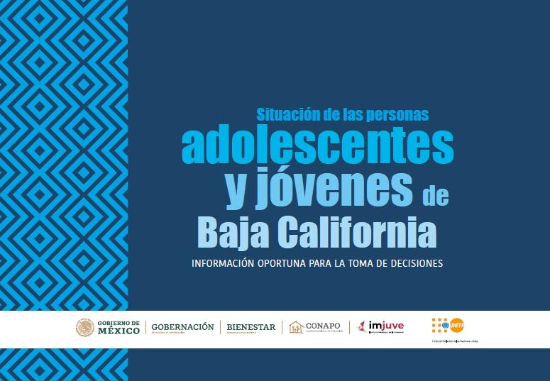 Situación de las personas adolescentes y jóvenes de Baja California