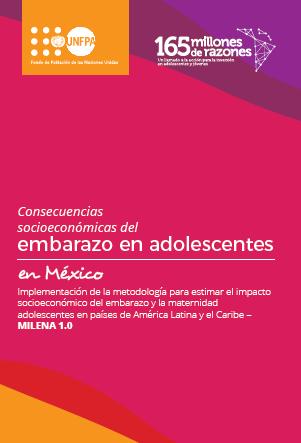 Folleto: Consecuencias socioeconómicas del embarazo en adolescentes en México