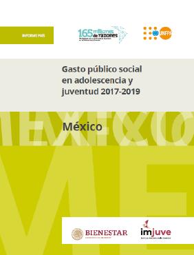 Gasto público social en adolescencia y juventud 2017-2019