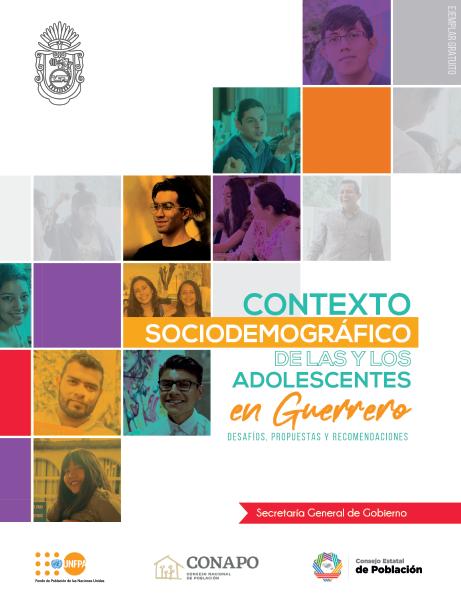 Contexto sociodemográfico de las y los adolescentes de Guerrero