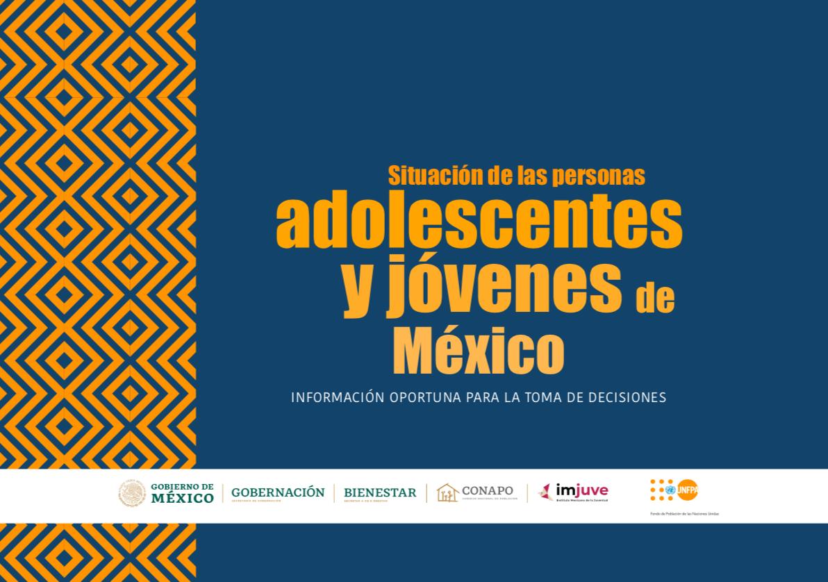 Situación de las personas adolescentes y jóvenes de México