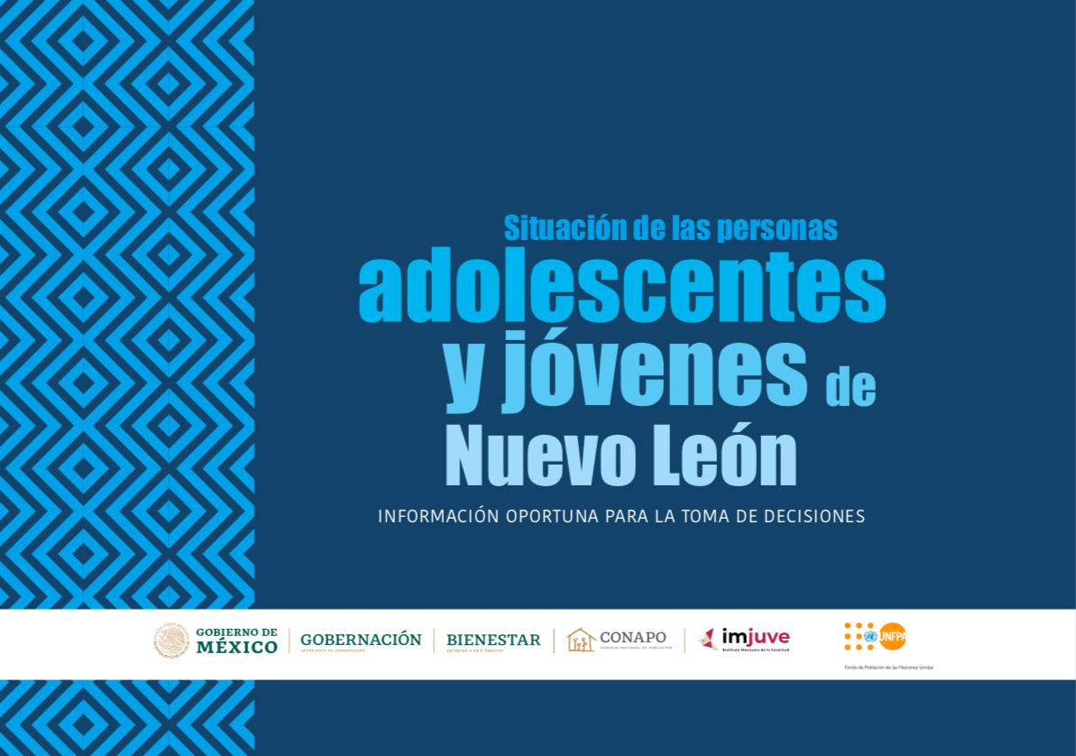 Situación de las personas adolescentes y jóvenes de Nuevo León