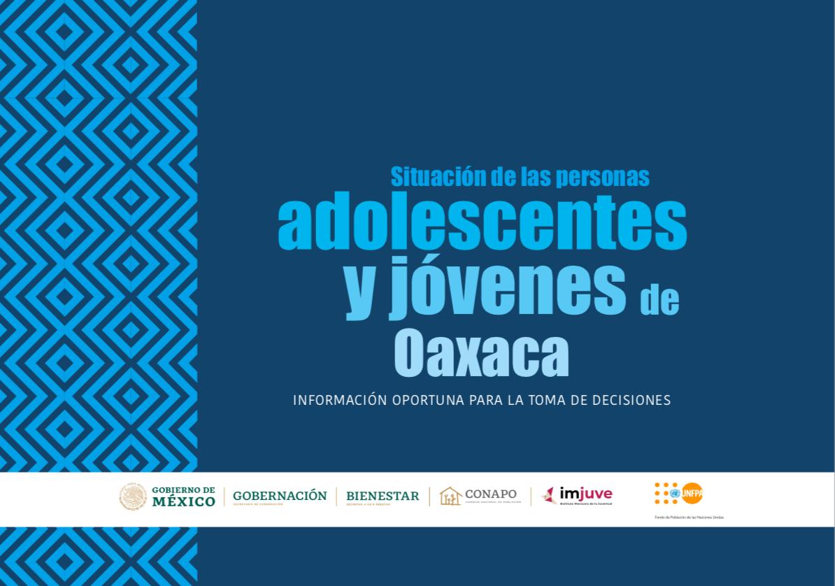 Situación de las personas adolescentes y jóvenes de Oaxaca