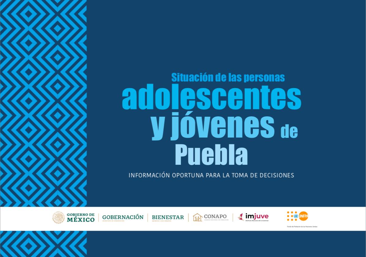 Situación de las personas adolescentes y jóvenes de Puebla
