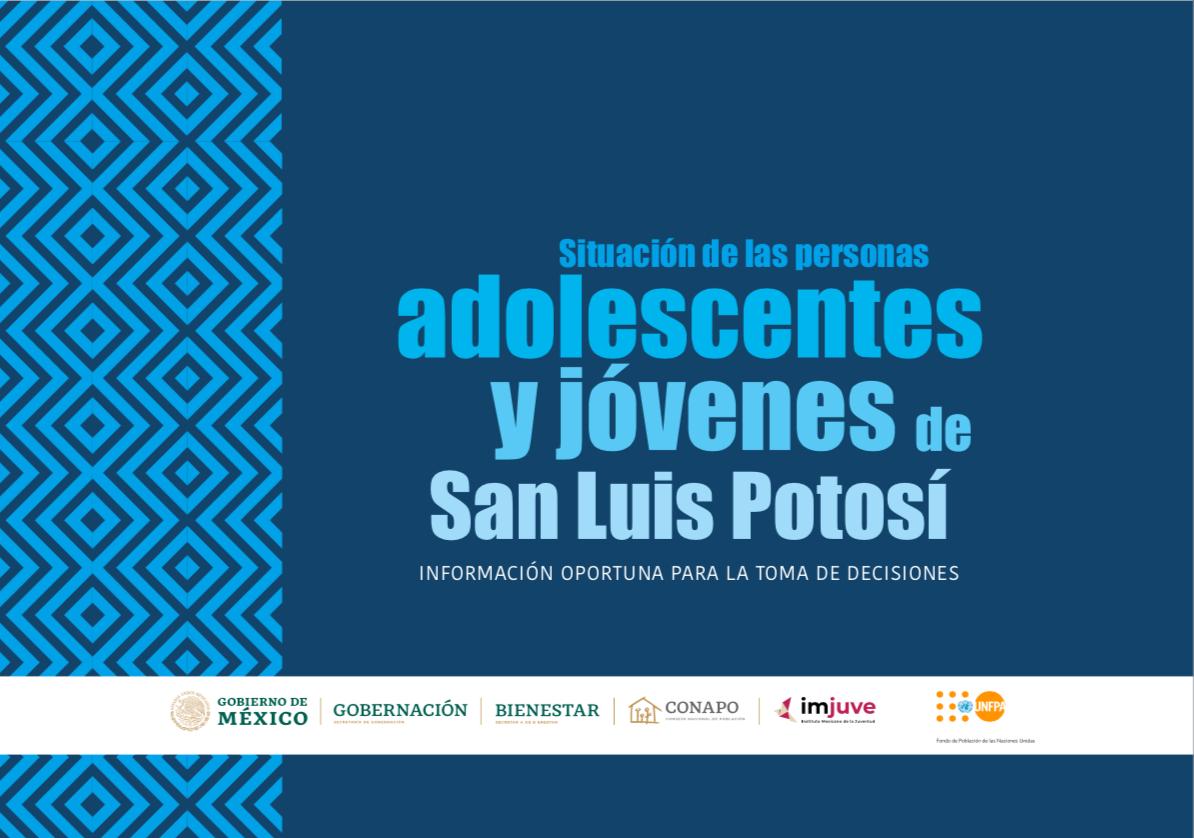 Situación de las personas adolescentes y jóvenes de San Luis Potosí