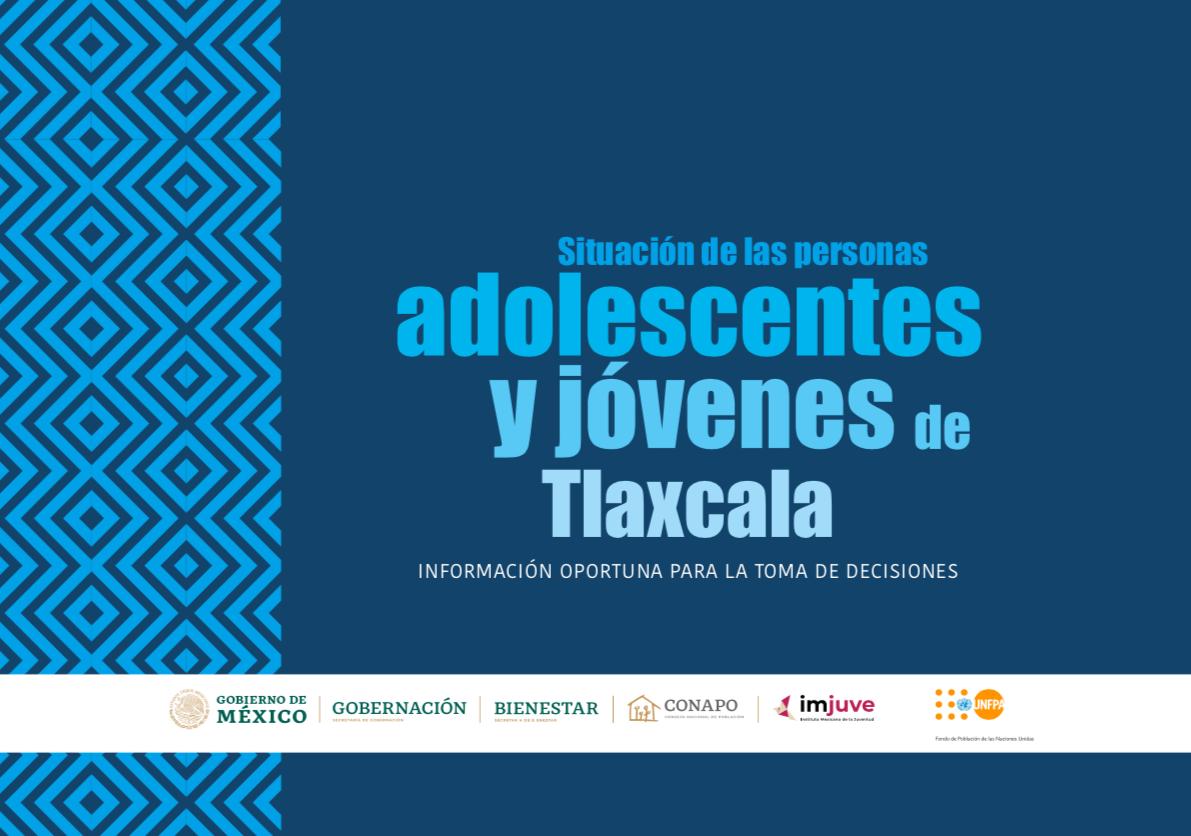 Situación de las personas adolescentes y jóvenes de Tlaxcala