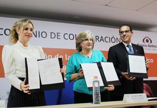 Convenio entre Banco Azteca y UNFPA México