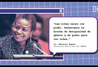 Declaración de la Dra. Natalia Kanem, Directora Ejecutiva del UNFPA - Día de la Niña 2021