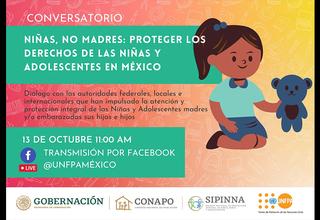 Niñas, no madres: proteger los derechos de las niñas y adolescentes en México