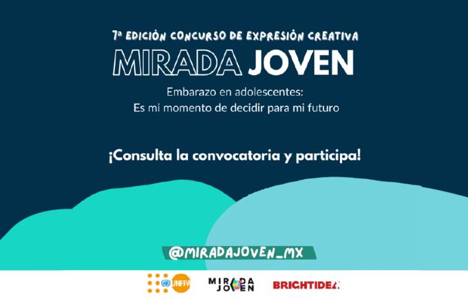 """7a Edición del concurso de expresión creativa """"Mirada Joven"""""""