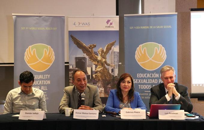 Conferencia de prensa Día Mundial de la Salud Sexual 2019
