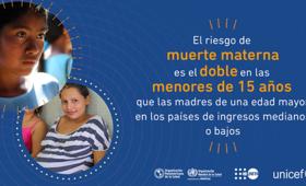 América Latina y el Caribe continúan siendo las subregiones con la segunda tasa más alta en el mundo de embarazos adolescentes.