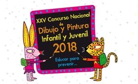 """Obras ganadoras XXV Concurso Nacional de Dibujo y Pintura Infantil y Juvenil, 2018: """"Educar para prevenir…"""""""