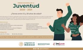 Convocatoria: Premio nacional de la Juventud 2020 - 2021